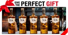"Give ""The Perfect Gift"" - SIA Scotch is the perfect gift for your client, family member or friend this holiday. This holiday season, give the gift of SIA Scotch Whisky. A perfect $50 gift idea for your special someone or for your boss, co-worker, or clients."