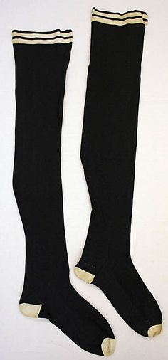 Stockings  Date: early 20th century Culture: German Medium: cotton