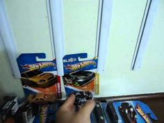 How to make a wall display for Hot Wheels/Matchbox cars