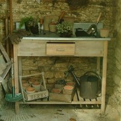potting bench by eve