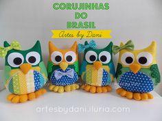 Corujinhas do Brasil!
