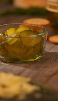 sweet hot pickles