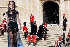 Julien MacDonald to design for Kate Middleton? A Spring Summer 2012 lace look.