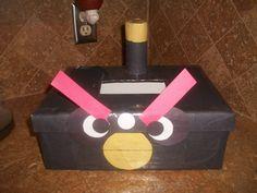 Angry Bird Valentine's Box