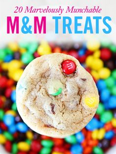 20 Insane Treats You Can Make with M&M'S