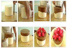 Easy Gift Box Cake Tutorial http://www.make-fabulous-cakes.com/gift-box-cake-tutorial.html