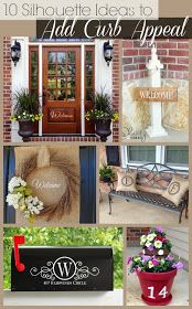 Silhouette School: 10 Silhouette Ideas to Add Curb Appeal to Your Home