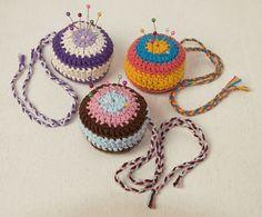 Alfileteros a crochet - Crochet - Tejidos de Punto - 613091