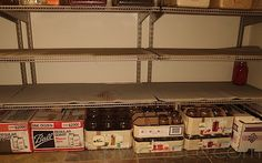 When She Got There, The Cupboards Were Bare: Assessing Your Larder
