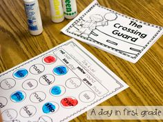 LOVE these guided reading books and sight word activities that go with them!