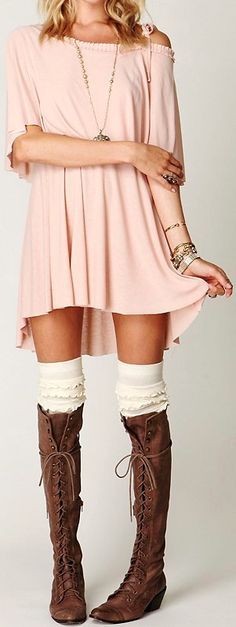 Free People... such an adorable outfit.