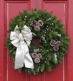 #Winter Elegance #Holiday #Wreath