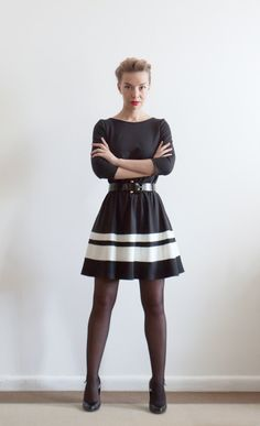 Block A-Line Dress from Lana Stepul