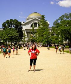 Casey Bricker found herself on the National Mall during a summer internship at the Smithsonian Museum of Natural History.