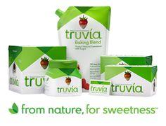 Sugar to Truvia Conversion Chart