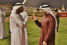 Hamdan MRM, Mohammed RSM and Rashid MRM, on Super Saturday (10/03/2012) Photo: Abdulrahman Al Mulla