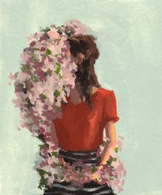 Ring of Roses . 16 x  20 giclee art print by ClareElsaesser, $65.00