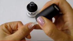 How to apply #gelnailpolish #gelnailpolish application tutorial.