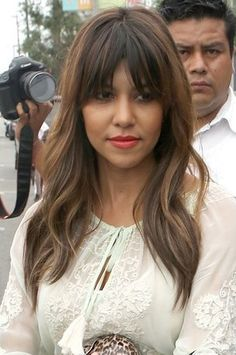 I love these bangs..
