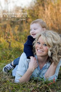 Mother & son picture
