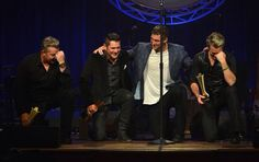Tebowing with Tim Tebow lol. 2014 ACM Honors