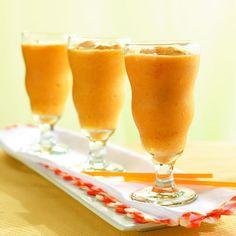 Sugar Free Fuzzy Orange Smoothie