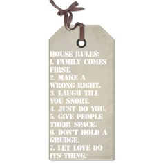 Rendi's Large tag sign! Customize it to whatever you want it to say! Love this look! http://www.shiz.rendistyle.com