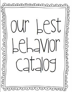 Positive Behavior Reward Catalog Posters 30 posters in all plus front binder cover