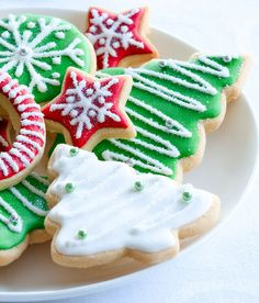 Christmas Cut-Out Cookies   The Cooking Mom
