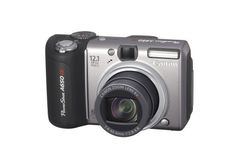 Canon PowerShot A650IS 12.1MP Digital Camera with 6x Optical Image Stabilized Zoom by Canon. $724.95. From the Manufacturer                 Canon's extremely popular A Series reaches a milestone with PowerShot A650IS, its new top-of-the-line camera. 12.1-megapixel resolution offers unparalleled resolution for a compact camera, while the powerful 6x optical zoom with Optical Image Stabilizer Technology delivers clear, blur-free images in low light and all through ...