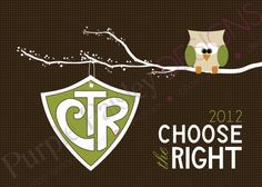 CTR Owl Printable Design (LDS primary)