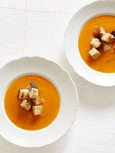 Get Ina Garten's recipe for Winter Squash Soup #Thanksgiving
