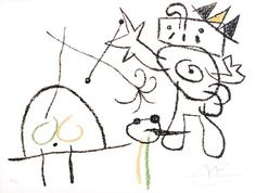 Joan Miró's lithograph, Ubu Roi aux Baleares (c.1966)