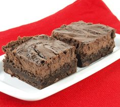 Chocolate Cheesecake Brownies by EvilShenanigans, via Flickr