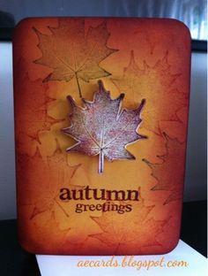 Fall Card
