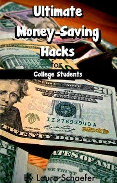 Ultimate Money-Saving Hacks for College Students by Laura Schaefer, http://www.amazon.com/dp/B008X9EBS2/ref=cm_sw_r_pi_dp_sPx-qb0703KMF