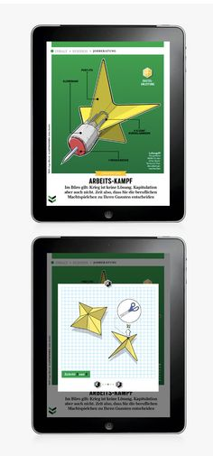 GQ MAGAZIN+ // iPad App on Behance