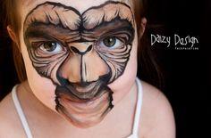 costum, idea, face paintings, makeup, art, facepaint, paints, kid, halloween