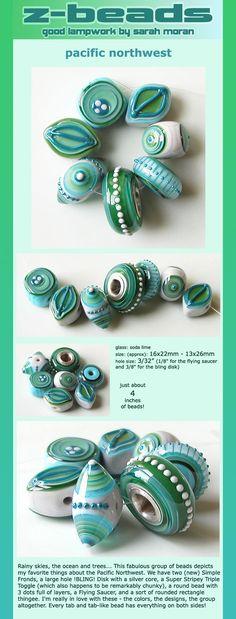 Amazing beads by Sarah Moran (Z-Beads).