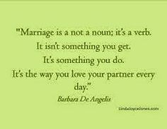 Marriage isn't for you blog entry