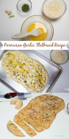 Quick Parmesan Garlic Flatbread Recipe, this one is always a hit in our home!