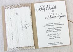 Etsy Favorites - Vintage Wedding Invitations