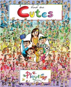 """Find the Cutes - Playtime"" is now available for sale online to anyone living in the USA. Go to our webshop on www.findthecutes.com or look on Amazon on this link: http://www.amazon.com/s/ref=nb_sb_noss?url=search-alias%3Daps&field-keywords=find+the+cutes+playtime"