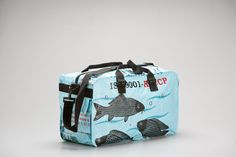 Duffle Bag Small   by torraingoods  recycled rice bags