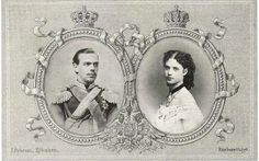 Dagmar (future Empress Marie) with her intended Tsarevich Nicholas whose unexpected death led her to marry his brother who became Tsar Alexander III