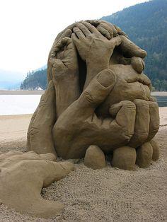 JPB: Sand Sculpture collection7 | handiwork | Flickr - Photo Sharing!