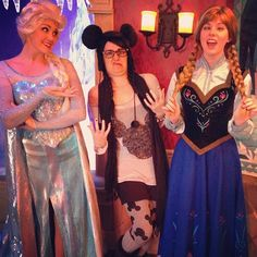 #disneyprinessuglyface with #jennyrae #elsa #anna #frozen #disney #disneyland