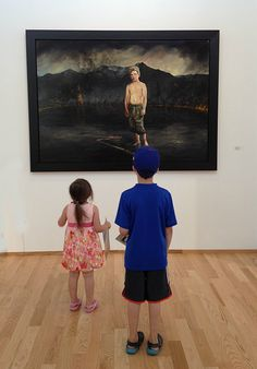 How to have fun at an art museum with young kids