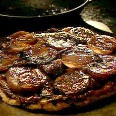 Delia Smith's Red Onion Tarte Tatin