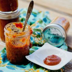 HOMESTYLE RHUBARB KETCHUP | Living Nutrition